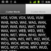 Scrabble Short Words 1.0.1
