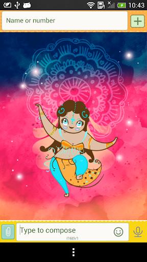 GO SMS Indian Theme