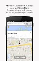 Screenshot of Hellotracks, GPS Phone Tracker