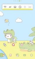 Screenshot of 베베 악어 도돌런처 테마