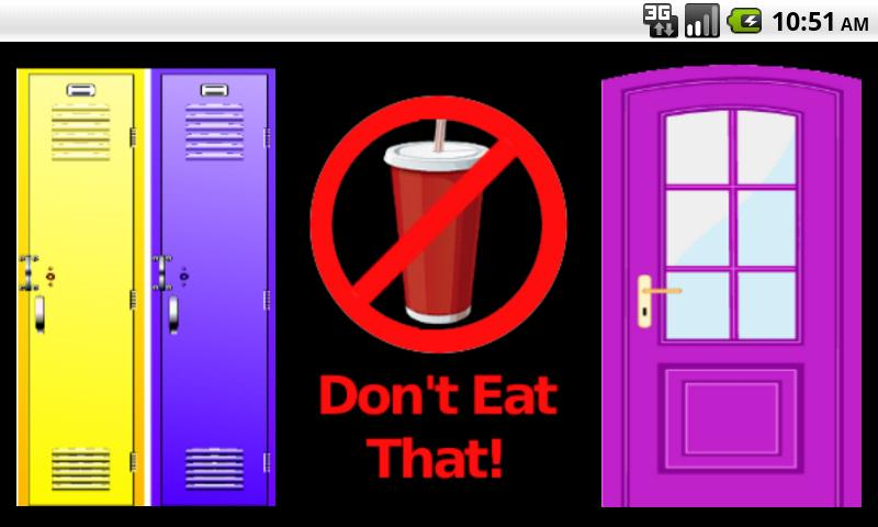 Don't Eat That! - screenshot