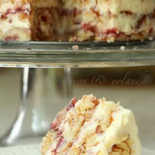 Strawberry Almond Layer Cake