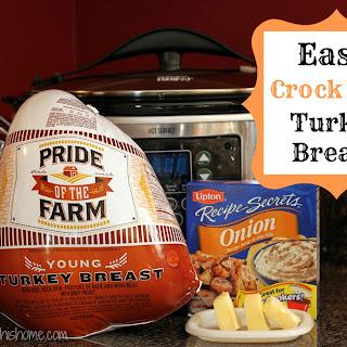 Easy Crock Pot Turkey Breast.