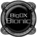 Bionic Launcher Theme White icon
