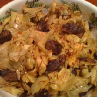 Artichokes with Figs and Marcona Almonds.