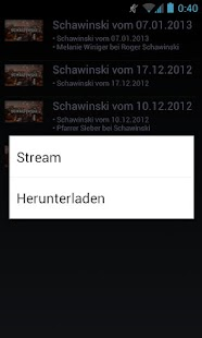 SwissTvStream Pro - screenshot thumbnail