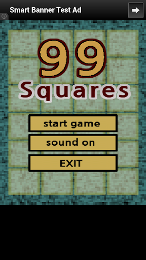 99 Squares - mini game