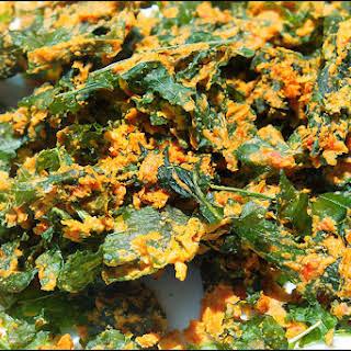Cheesy Kale Chips (Raw & Vegan).
