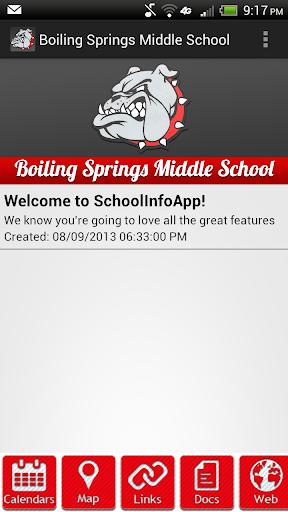 【免費教育App】Boiling Springs Middle School-APP點子