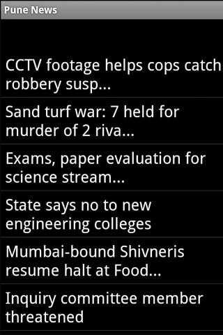 Pune India News - screenshot