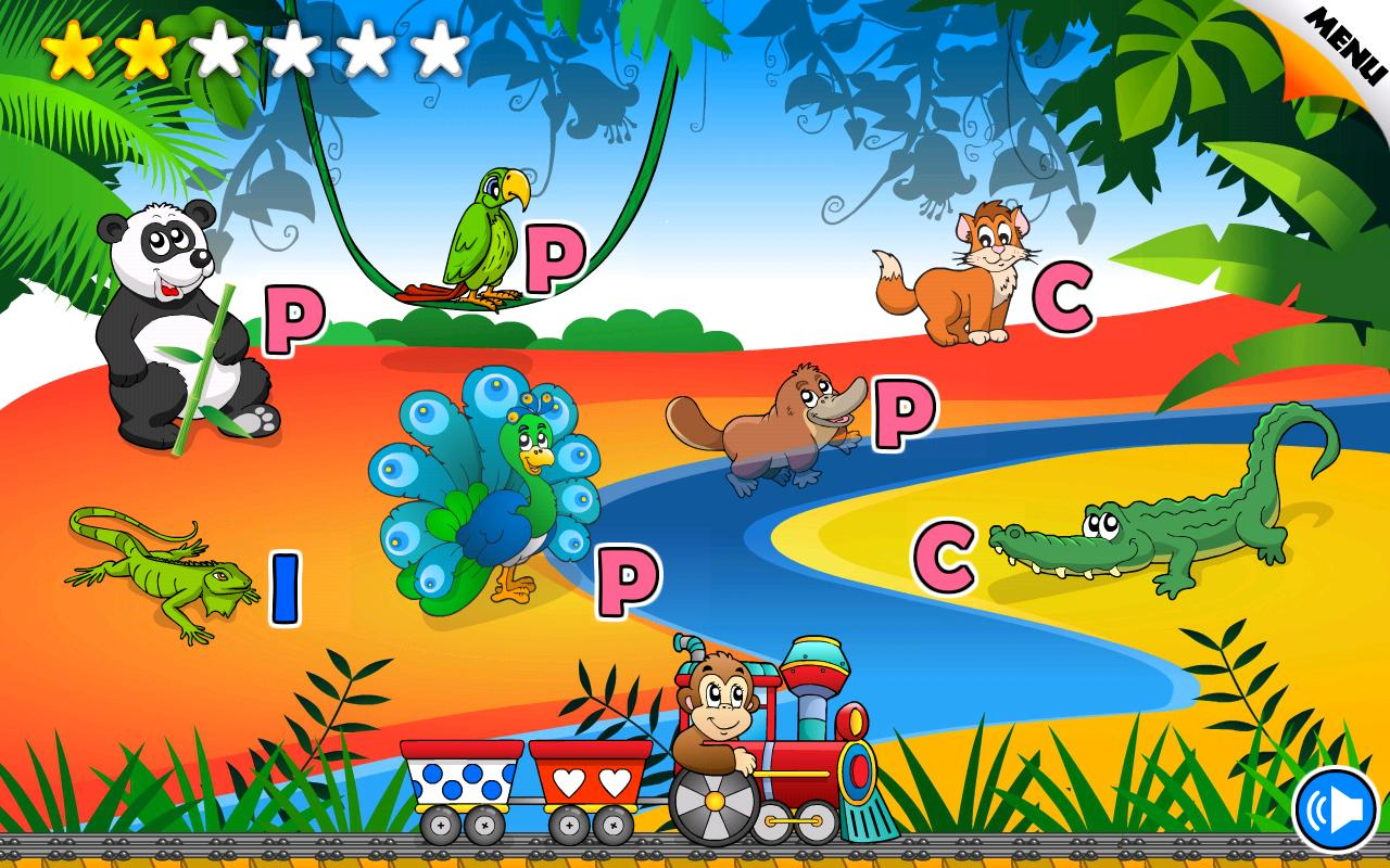 Farm Animal Wall Stickers Preschool Learning Games Kids Android Apps On Google Play