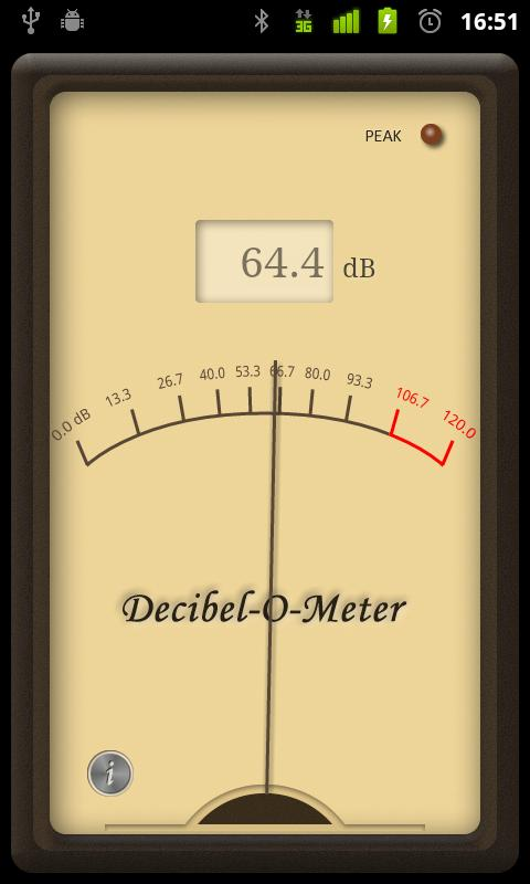 Decibel-O-Meter - screenshot
