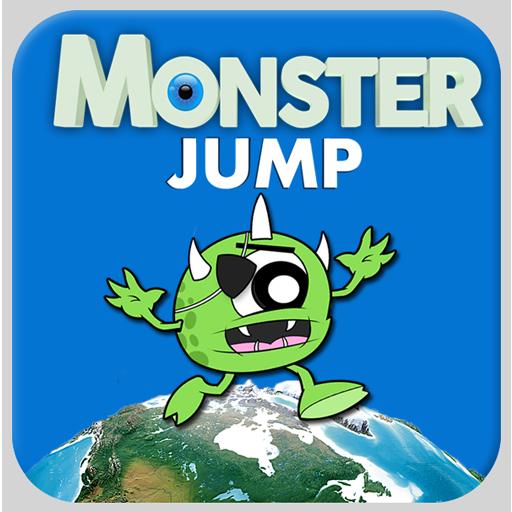 Monster Jump LOGO-APP點子