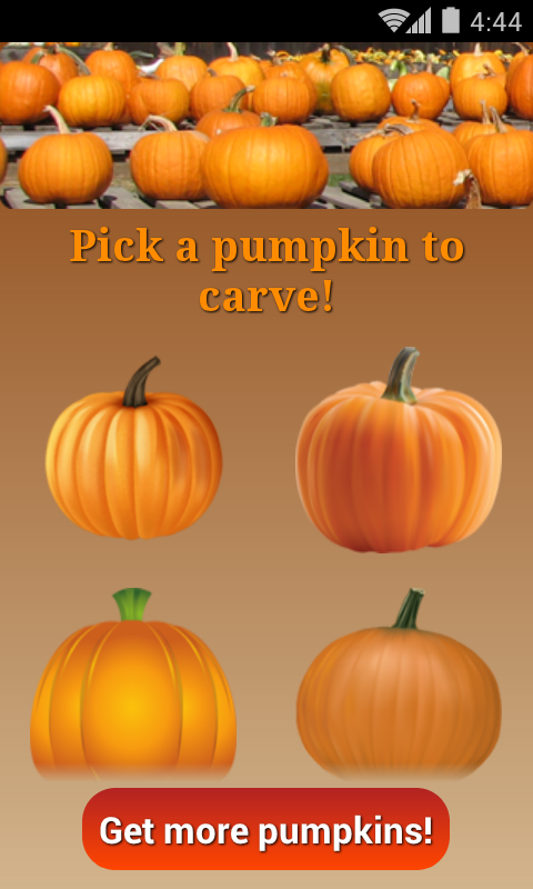 Pumpkin Carver - screenshot