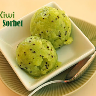 Kiwi Sorbet.
