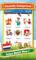 Screenshot of Learn Dutch