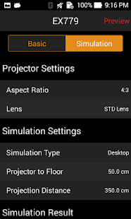 Projection Simulator- screenshot thumbnail