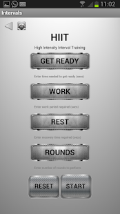 Restimate Gym Timer- screenshot thumbnail