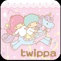 SANRIO CHARACTERS twippa2 logo
