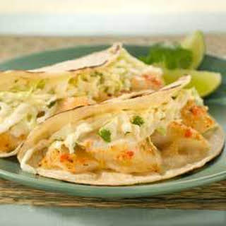 Grilled Chipotle Fish Tacos.