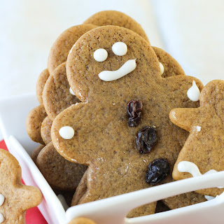 Soft, Chewy Gingerbread Boys – My Family
