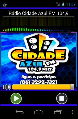 Rádio Cidade Azul 104 9
