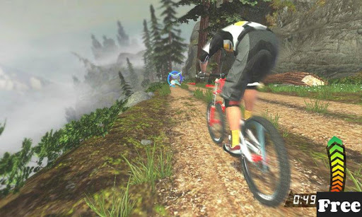 Biking Downhill Sport