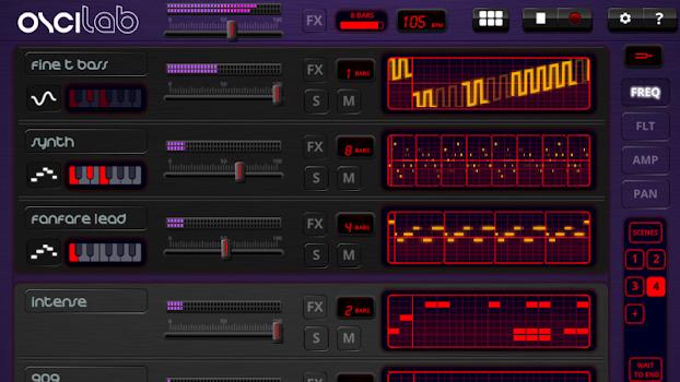 Oscilab Pro - Groovebox and MIDI