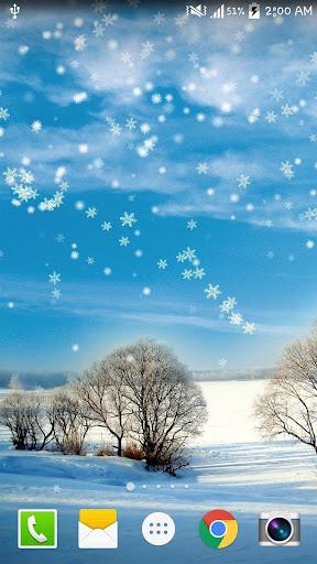 Winter Snow Live Wallpaper PRO