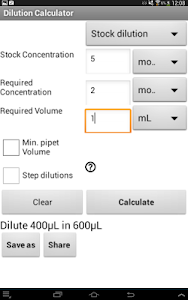 Dilution Calculator (Free) screenshot 11