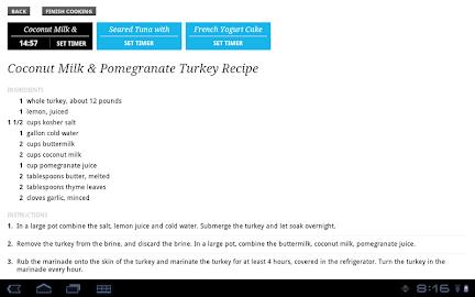 Recipe, Menu & Cooking Planner Screenshot 9