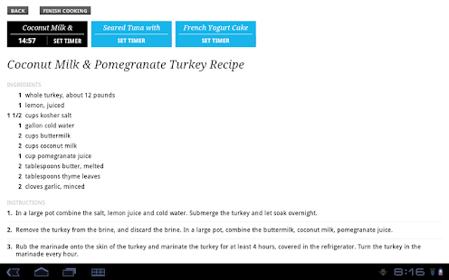 Recipe, Menu & Cooking Planner - screenshot thumbnail