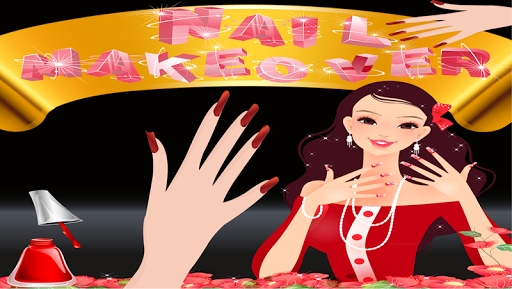 Bride Nail Makeover Saloon