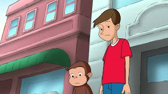 George Fixes Betsy's Wagon/Curious George Takes a Dive