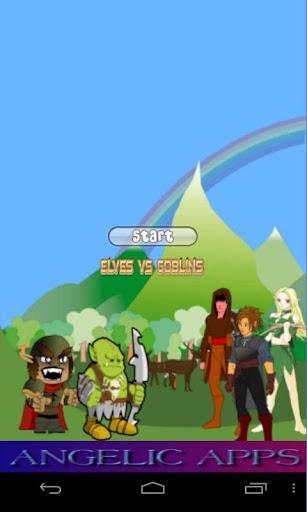 Elves Vs Goblins Game - No Ads