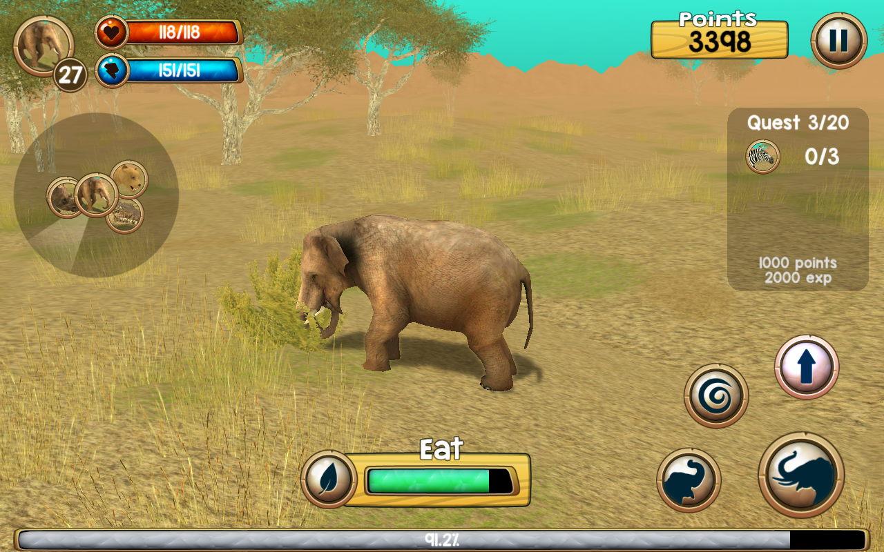 Wild Elephant Sim 3D - Android Apps on Google Play Elephant Games