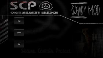 Screenshot of Slendy: SCP MOD