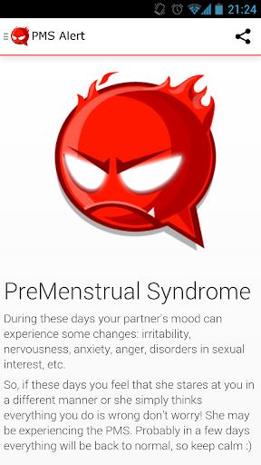 Period PMS Alert for men