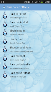 Rain Sound Effects screenshot 0