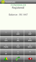 Screenshot of fonoDialer