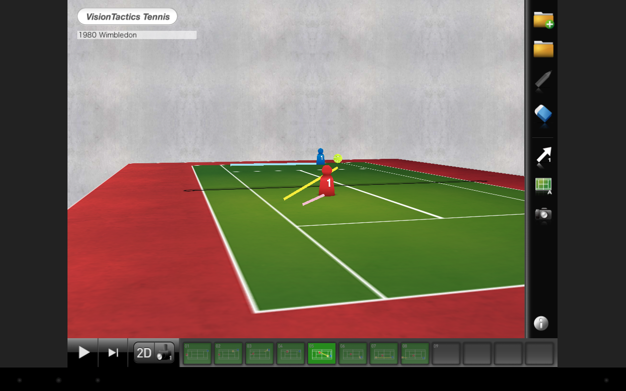 VisionTactics Tennis- screenshot