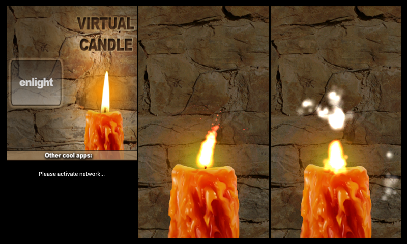 Virtual Candle- screenshot