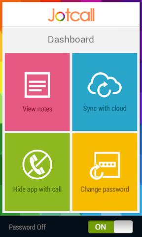 Screenshots for Jotcall