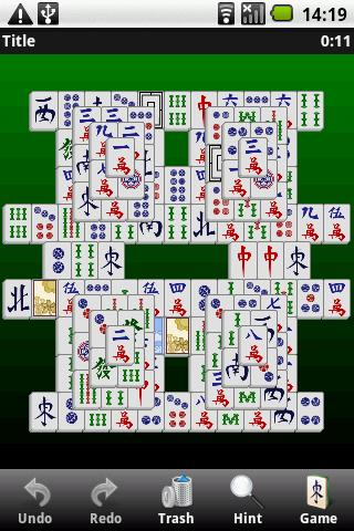 Mahjongg Builder - screenshot