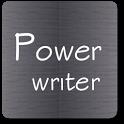 Power writer icon