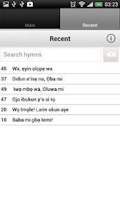 Apẹrẹ Iwe Orin Mimọ (+English) - screenshot thumbnail