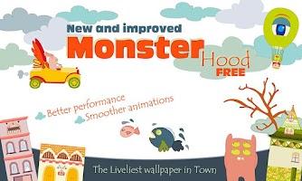 Screenshot of MonsterHood Live Wallpaper