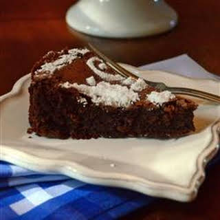 French Chocolate Cake.