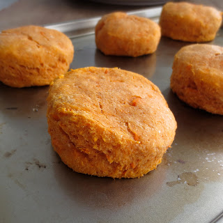 Whole Wheat Sweet Potato Biscuits.