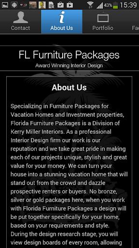 玩商業App|Florida Furniture Packages免費|APP試玩